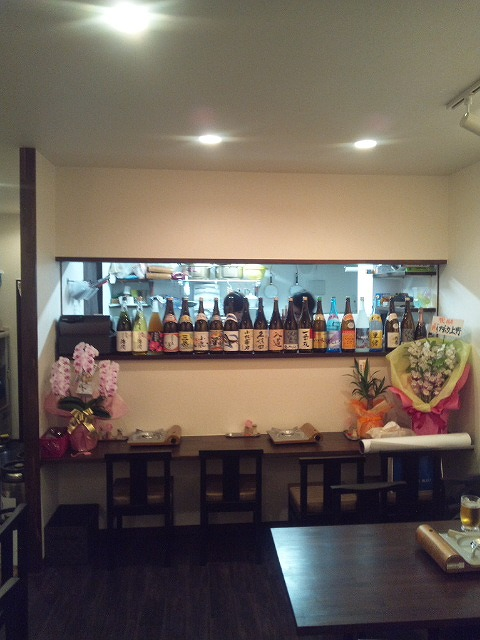 飲食店施工例 もつ鍋店の内装